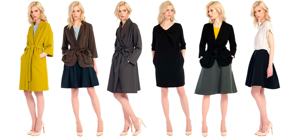 Фотосъемка одежды на моделях для каталогов
